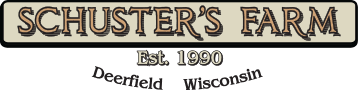 Schuster's Farm / Schusters Playtime Farm – Deerfield/Madison, WI header image